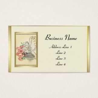 Vintage Flower Fairy Business Card