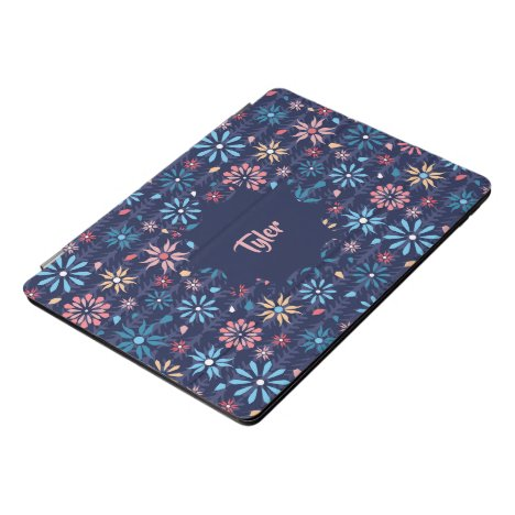 Vintage flower garden iPad pro cover