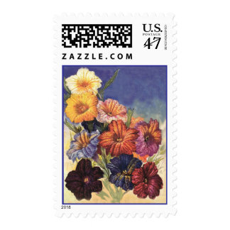 Vintage Flower/Garden Stamps