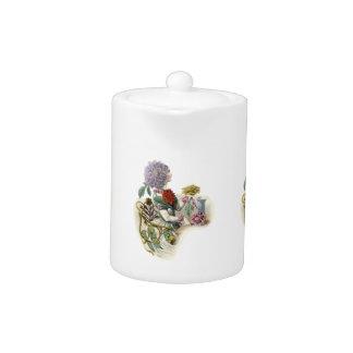 Vintage Flower Girl Teapot