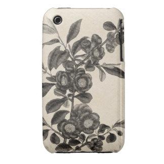 Vintage Flower Grunge iPhone 3 Cover