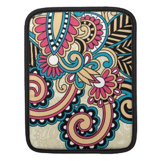 Vintage Flower iPad Sleeve