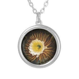 Vintage Flower Night-Blooming Cereus Thornton Custom Necklace