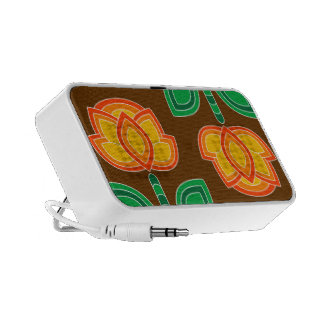 Vintage Flower Pattern Speaker