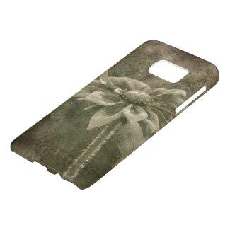 Vintage Flower Samsung Galaxy S7 Case