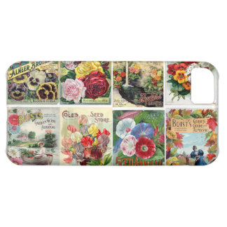 Vintage Flower Seed Catalogs Collage iPhone 5C Cover