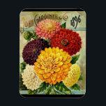 """Vintage Flower Seed Packet- Flexi Magnet<br><div class=""""desc""""></div>"""