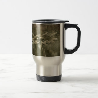 Vintage Flower Travel Mug