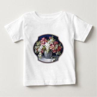 Vintage Flower Vase Baby T-Shirt