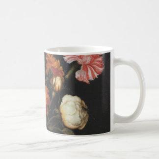 Vintage Flower Vase Fine Art Painting Ambrosius Coffee Mug