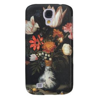 Vintage Flower Vase Fine Art Painting Ambrosius Samsung Galaxy S4 Case