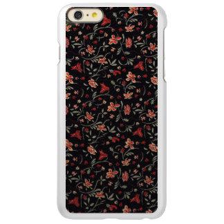 Vintage Flowers 5/5s ATLAS ID™, Pink/Dark Gray Incipio Feather Shine iPhone 6 Plus Case