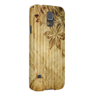 vintage flowers and stripes cases for galaxy s5