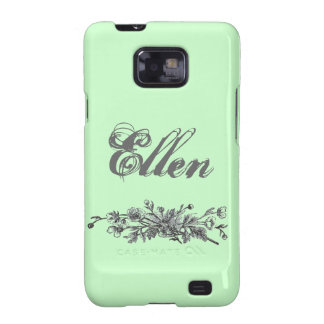 Vintage Flowers Case-Mate Samsung Galaxy S2 Barely Samsung Galaxy SII Cases