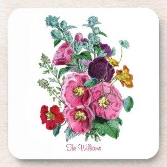 Vintage Flowers Coasters