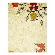 Vintage flowers Flyer
