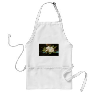 Vintage Flowers, Giant Magnolias by Martin Heade Adult Apron