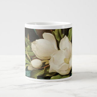 Vintage Flowers, Giant Magnolias by Martin Heade Giant Coffee Mug