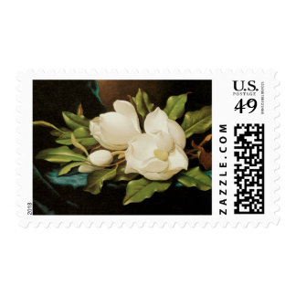 Vintage Flowers, Giant Magnolias by Martin Heade Postage
