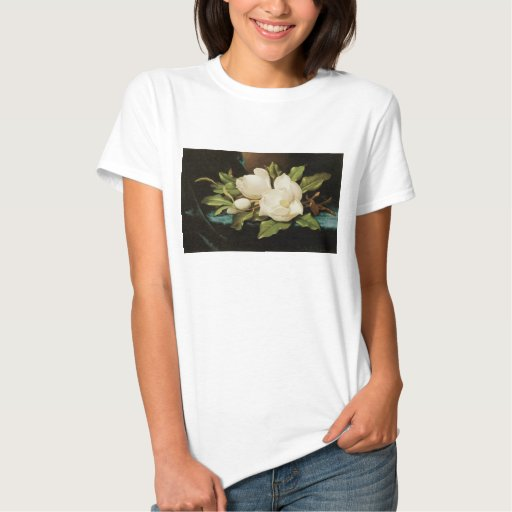 Vintage Flowers, Giant Magnolias by Martin Heade Tee Shirts