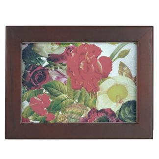 Vintage Flowers Grunge Memory Box