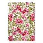 vintage flowers iPad mini case