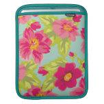 Vintage Flowers iPad Sleeve