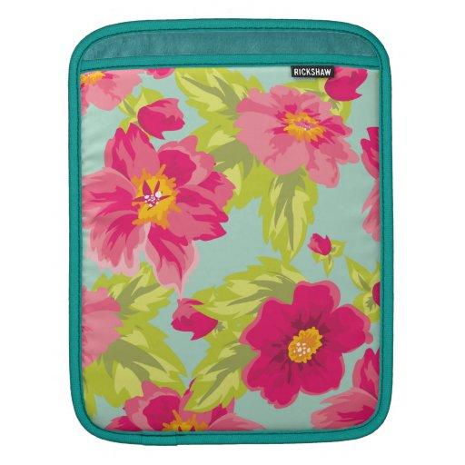 Vintage Flowers iPad Sleeves