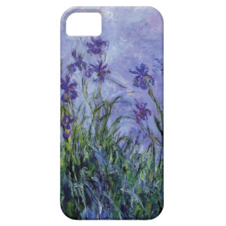 vintage flowers lilac irises 1917 Monet flora art iPhone SE/5/5s Case