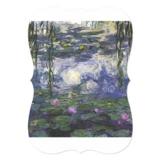 vintage flowers Monet_water lilies 1915 artist art Card