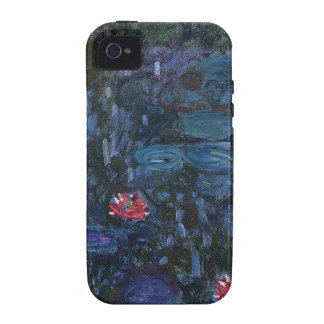 vintage flowers monet water lilies reflections art iPhone 4/4S covers