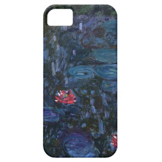 vintage flowers monet water lilies reflections art iPhone 5 cases