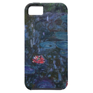 vintage flowers monet water lilies reflections art iPhone 5 case