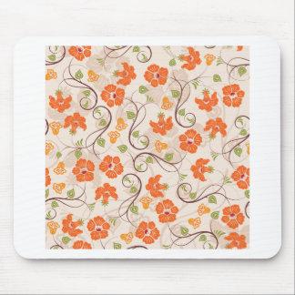 Vintage Flowers Mouse Pad