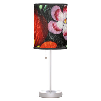 Vintage flowers no. 4 photographed by Tutti Table Lamp