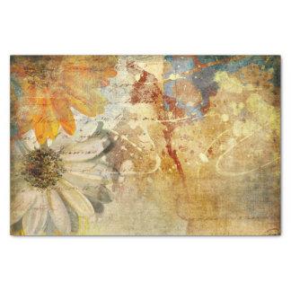 Vintage Flowers - Tissue Paper