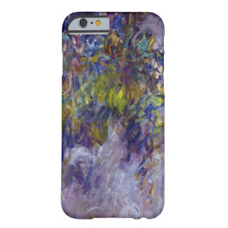 Vintage Flowers, Wisteria (left) by Claudet Monet Barely There iPhone 6 Case
