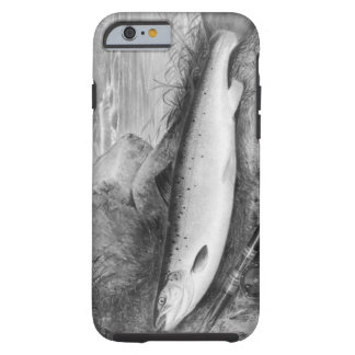 Vintage Fly Fishing art iPhone 6 Case