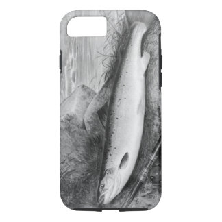 Vintage Fly Fishing art iPhone 8/7 Case