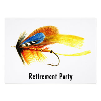 Vintage fly fishing lure card