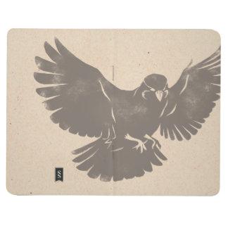 Vintage Flying Bird Journal
