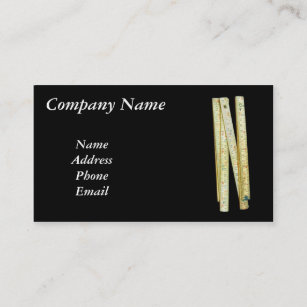 Ruler business cards templates zazzle vintage fold up ruler business card colourmoves