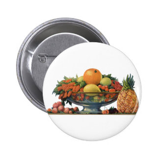 Vintage Food, Assorted Fruit in a Bowl Pins