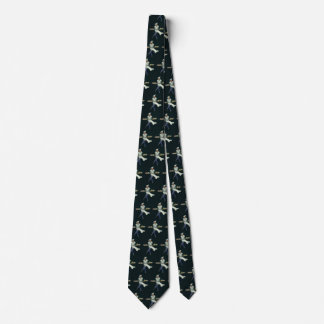 Vintage Food Business, Baker with Pastry Desserts Neck Tie