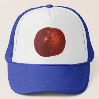Vintage Food Fruit, Organic Red Delicious Apple Trucker Hat
