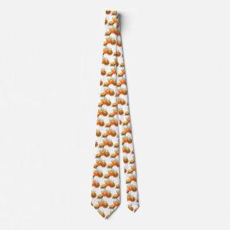 Vintage Food Fruit, Ripe Oranges Juicer Breakfast Neck Tie