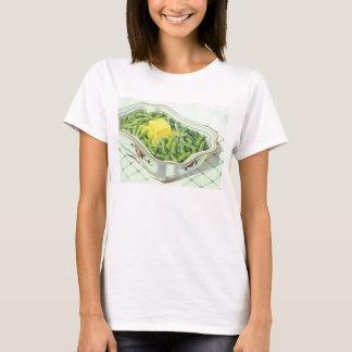Vintage Food, Green Bean Casserole with Butter T-Shirt