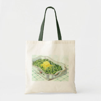 Vintage Food, Green Bean Casserole with Butter Tote Bag
