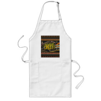 Vintage Food Green Bean Vegetable Advertising Long Apron