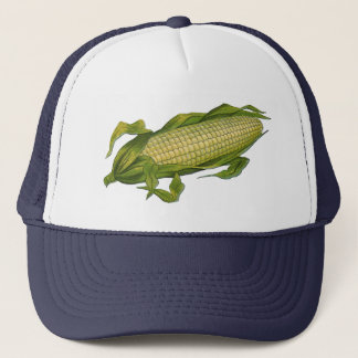 Vintage Food, Healthy Vegetables, Corn on the Cob Trucker Hat